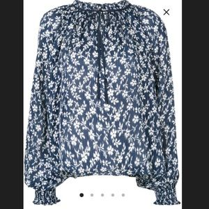 Ulla Johnson Floral Embroidered Blouse!